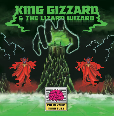 King Gizzard & The Lizard Wizard - I'm In Your Mind Fuzz (Limited Edition Clear w/ Black Smoke Vinyl LP)