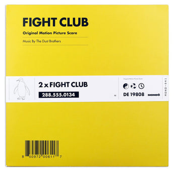 The Dust Brother - Fight Club Soundtrack (Limited Edition 180-Gram Pink Splatter Vinyl 2xLP x/4000) - Rare Limiteds