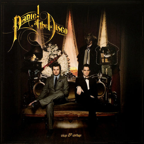 Panic! At The Disco - Vices & Virtues (Hot Topic Exclusive Maroon w/ Black Splatter Vinyl LP x/1500)