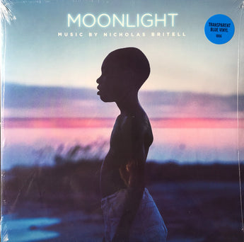 Nicholas Britell - Moonlight (Autographed 180-GM Transparent Blue Vinyl LP)