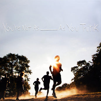 Sorority Noise - You're Not As _____ As You Think (Limited Edition Clear w/ Blue & Beer Splatter Vinyl LP x/200 + Digital Download) - Rare Limiteds