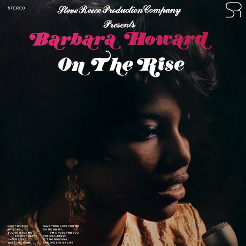 Barbara Howard - On The Rise (Limited Edition Pink Vinyl LP x/1000) - Rare Limiteds