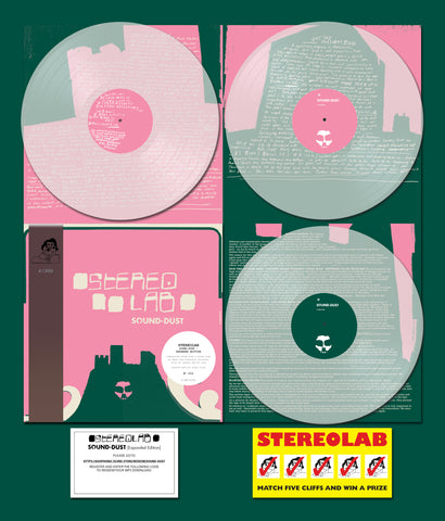 Stereolab - Sound-Dust (Deluxe Expanded Edition Clear Vinyl 3xLP w/ OBI Strip x/500)