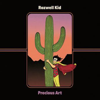 Rozwell Kid - Precious Art (Limited Edition Pink / Blue Vinyl LP x/200 + Digital Download) - Rare Limiteds