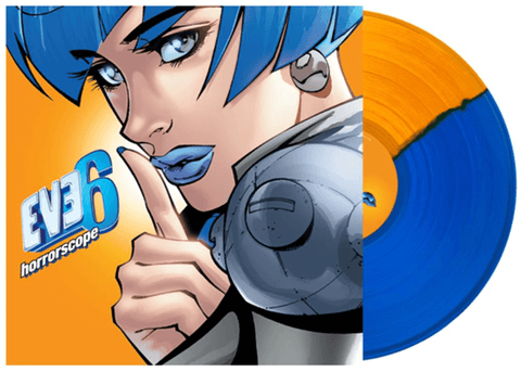Eve 6 - Horrorscope (Limited Edition Blue / Orange Split Vinyl LP x/300) - Rare Limiteds
