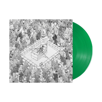 "Dance Gavin Dance - Happiness (Limited ""Color Pop"" Edition Kelly Green Vinyl LP x/1000) - Rare Limiteds"