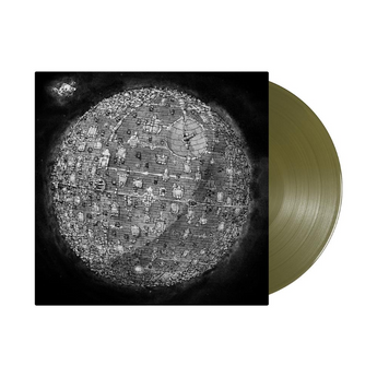"Dance Gavin Dance - Dance Gavin Dance [Self-Titled] (Limited ""Color Pop"" Edition Swamp Green Vinyl LP x/1000) - Rare Limiteds"