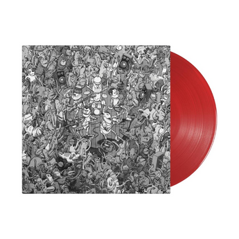 "Dance Gavin Dance - Tree City Sessions (Limited ""Color Pop"" Edition Blood Red Vinyl 2xLP x/1000) - Rare Limiteds"