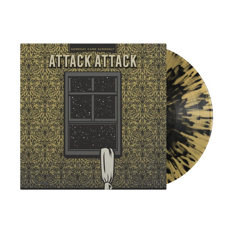 Attack Attack! - Someday Came Suddenly (10-Year Anniversary Beer w/ Black Splatter Vinyl LP x/350) - Rare Limiteds
