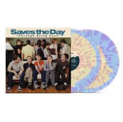 Saves The Day - Through Being Cool (20th Anniversary Edition Light Blue / Cream Mix w/ Pink Splatter Vinyl 2xLP x/500)