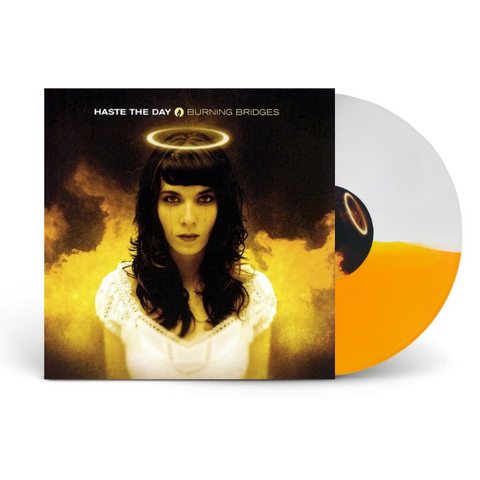 Haste The Day - Burning Bridges (Limited Edition Gold / White Split Color Vinyl LP x/525)