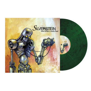 Silverstein - When Broken Is Easily Fixed (Limited Edition Clear Green w/ Black Smoke Vinyl LP x/250) - Rare Limiteds
