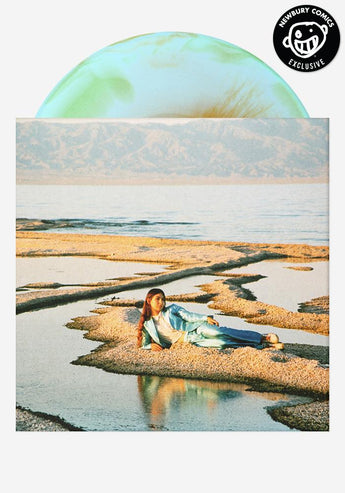Weyes Blood - Front Row Seat To Earth (Newbury Comics Exclusive Blue, Green & Gold Haze Vinyl LP x/300)