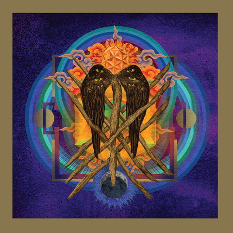 YOB - Our Raw Heart (Deluxe Edition Gold In Clear w/ Rainbow Splatter Vinyl 2xLP Box Set x/300)
