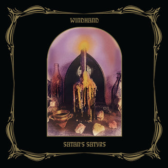 Windhand / Satan's Satyrs - Split (Limited Edition Black / Metallic Gold Merge w/ White & Gold Splatter Vinyl LP x/100)