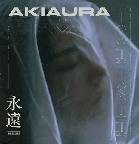 Akiaura - Forever (Limited Edition 180-GM Blue / White Marbled Vinyl LP x/100)