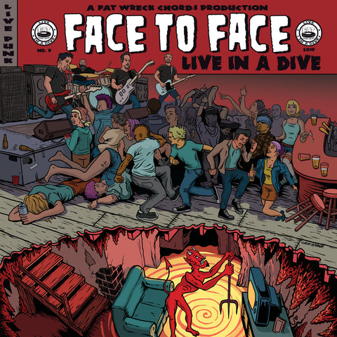Face To Face - Live In A Dive (Vinyl LP + Poster)