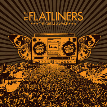 "The Flatliners - The Great Awake (Limited Edition 10th Anniversary Colored Vinyl LP + Splatter 7"" Vinyl Bundle)"