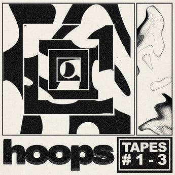 HOOPS - Tapes #1-3 (Limited Edition Swimmin' Pool Blue Vinyl 2xLP x/200)