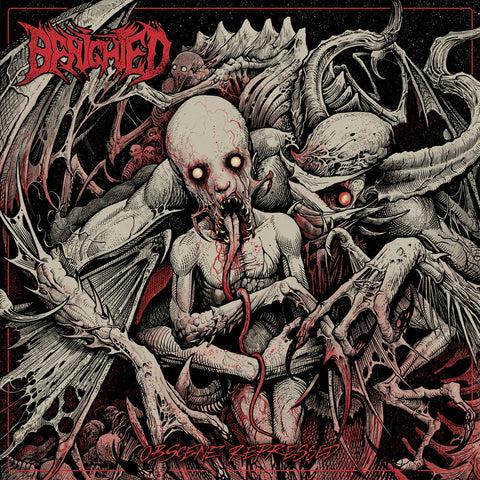 Benighted - Obscene Repressed (Limited Edition Glow-In-The-Dark Vinyl LP x/200)