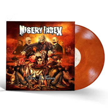 Misery Index - Heirs To Thievery (10th Anniversary Translucent Orange / Black Marble Vinyl LP x/100)