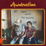 AWOLNATION - Here Come The Runts (Red Bull Records Exclusive 180-GM Brown Marble Vinyl LP x/300)