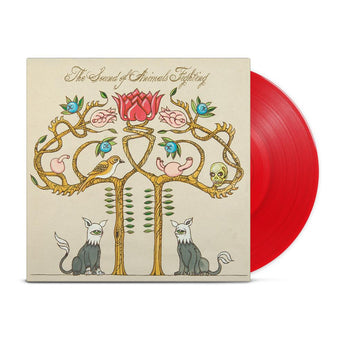 The Sound Of Animals Fighting - Tiger & The Duke (Hot Topic Exclusive Transparent Red Vinyl LP)