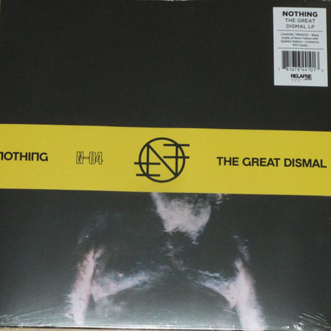 Nothing - The Great Dismal (Evil Greed Exclusive Black Inside Neon Yellow w/ Splatter Vinyl LP w/ OBI x/100)