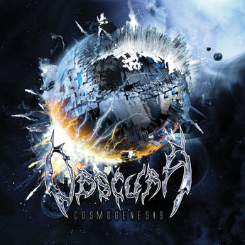 Obscura - Cosmogenesis (Deluxe Edition Metallic Silver / Royal Blue Merge w/ Orange + Yellow Splatter Vinyl LP x/300 + Slipmat)