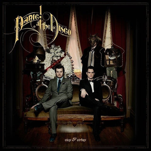 Panic! At The Disco - Vices and Virtues (Hot Topic Exclusive Maroon with Black Splatter Vinyl LP)