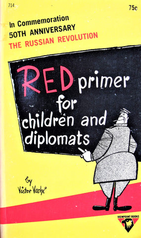 Victor Vashi - Red Primer For Children And Diplomats (Paperback Book - 1967 Viewpoint Books)