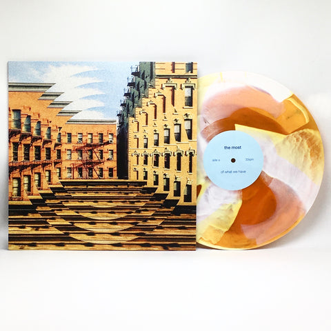 The Most - Of What We Have (Limited Edition Orange w/ White Pinwheel Vinyl LP x/38)