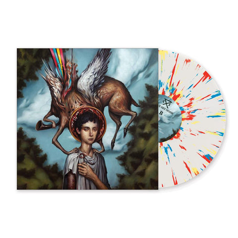 Circa Survive - Blue Sky Noise (Limited Edition Cloudy Clear w/ Blue, Yellow & Red Splatter Vinyl 2xLP x/1000) - Rare Limiteds