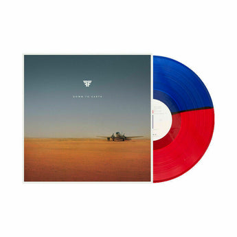 Flight Facilities - Down To Earth (Limited Edition Red, White & Blue Tri-Color Vinyl 2xLP)