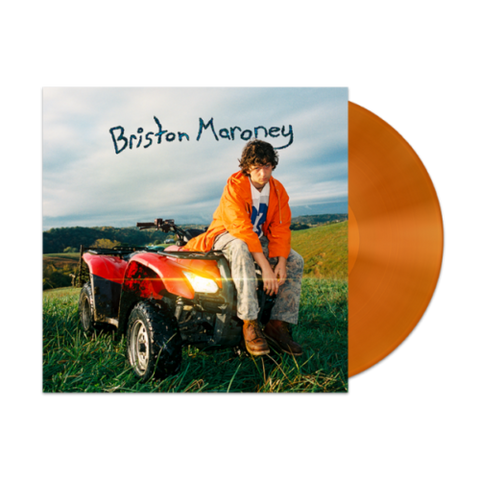 Briston Maroney - Sunflower (Autographed Limited Edition Translucent Orange Vinyl LP)