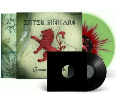 "Enter Shikari - Common Dreads (Deluxe Edition Glow-In-The-Dark w/ Splatter Vinyl LP + 7"" Bundle x/1500)"