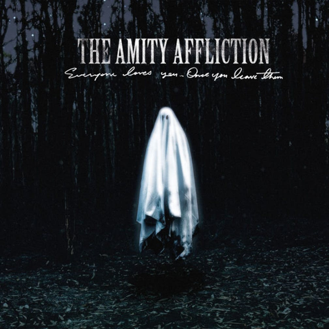 The Amity Affliction - Everyone Loves You... Once You Leave Them (Limited Editon Black & Grey w/ Heavy White Splatter Vinyl LP x/200)