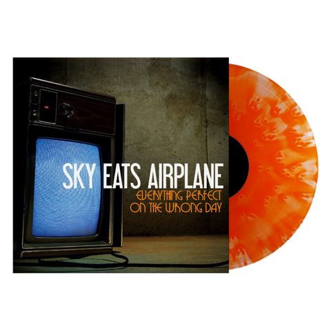 Sky Eats Airplane - Everything Perfect On The Wrong Day (Limited Edition Ghostly Orange Vinyl LP x/200)