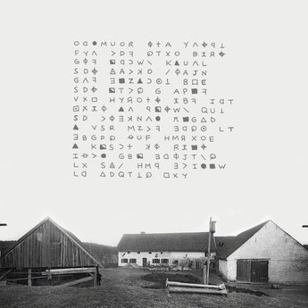 Giles Corey ‎- Hinterkaifeck (Limited Edition Clear w/ Splatter Vinyl LP w/ Silk-Screened Cover)
