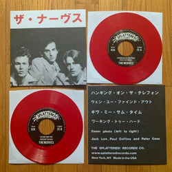 "The Nerves - The Nerves [Self-Titled] EP (Limited Japanese Edition Red 7"" Vinyl EP x/300)"