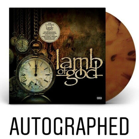 Lamb Of God - Lamb Of God [Self-Titled] (Autographed Deluxe Edition Orange & Red Swirl Vinyl LP)