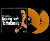 Various Artists - Welcome To The Family (Limited Edition Orange / Black Split Vinyl 2xLP w/ Numbered Pizza Box & Slipmat Bundle)