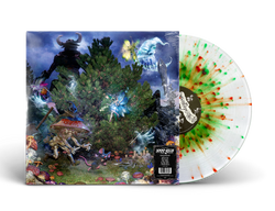 100 Gecs - 1000 Gecs And The Tree Of Clues (Limited Edition Clear w/ Red & Green Splatter Vinyl LP x/4000)