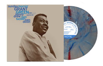 Grant Green - Sunday Mornin' (Limited Edition 180-GM Red, White & Blue Vinyl LP x/200)