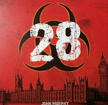 "John Murphy - 28: The Biohazard EP (Limited Edition Orange Inferno 12"" Vinyl EP x/150)"