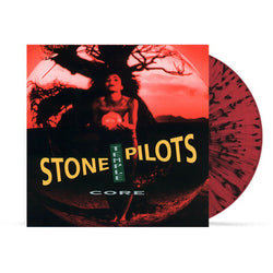 Stone Temple Pilots - Core (Wal-Mart Exclusive Red w/ Black Splatter Vinyl LP)