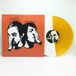 Death From Above - Heads Up (Limited Edition Autographed Orange / White Split Vinyl LP x/500) - Rare Limiteds