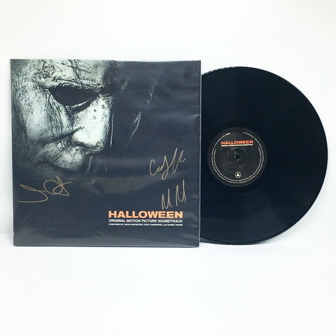 John Carpenter, Cody Carpenter, Daniel Davies - Halloween (Autographed Vinyl LP) - Rare Limiteds