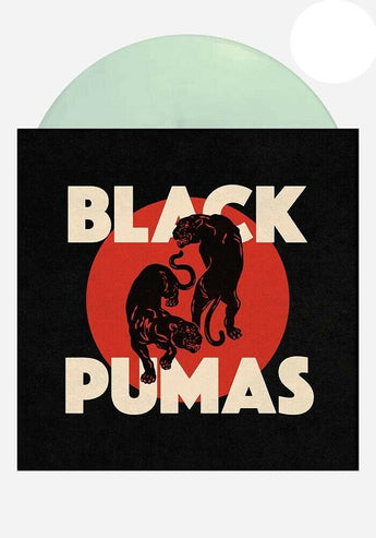 Black Pumas - Black Pumas [Self-Titled] (Limited Edition Glow-In-The-Dark Vinyl LP x/1000)