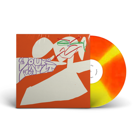 "Horse The Band - Your Fault (Limited Edition Orange & Yellow Pinwheel 12"" Vinyl EP)"
